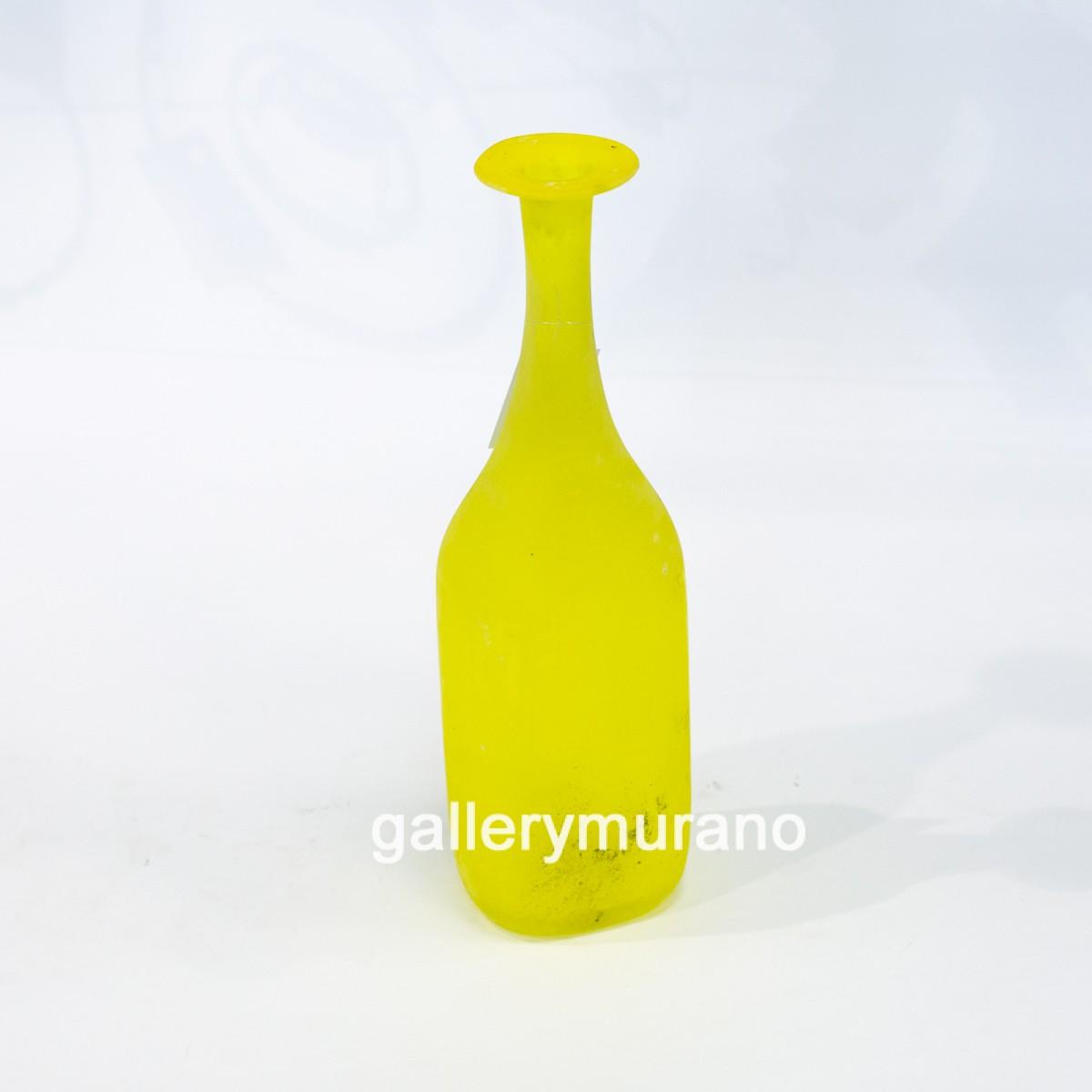 Ваза матовая желтая Scavo