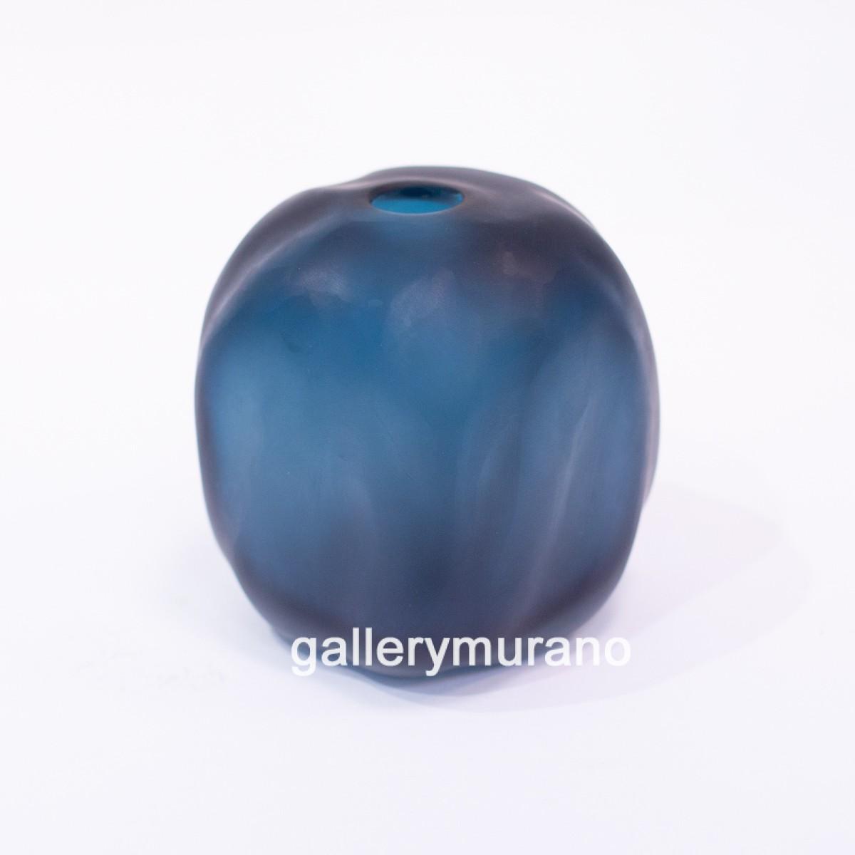 Ваза Masse серо-синяя
