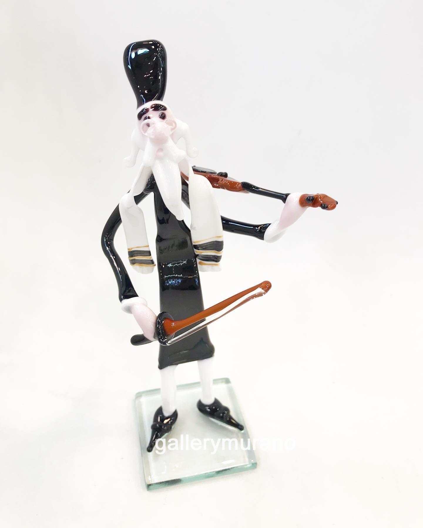 Фигурка Еврей со скрипкой
