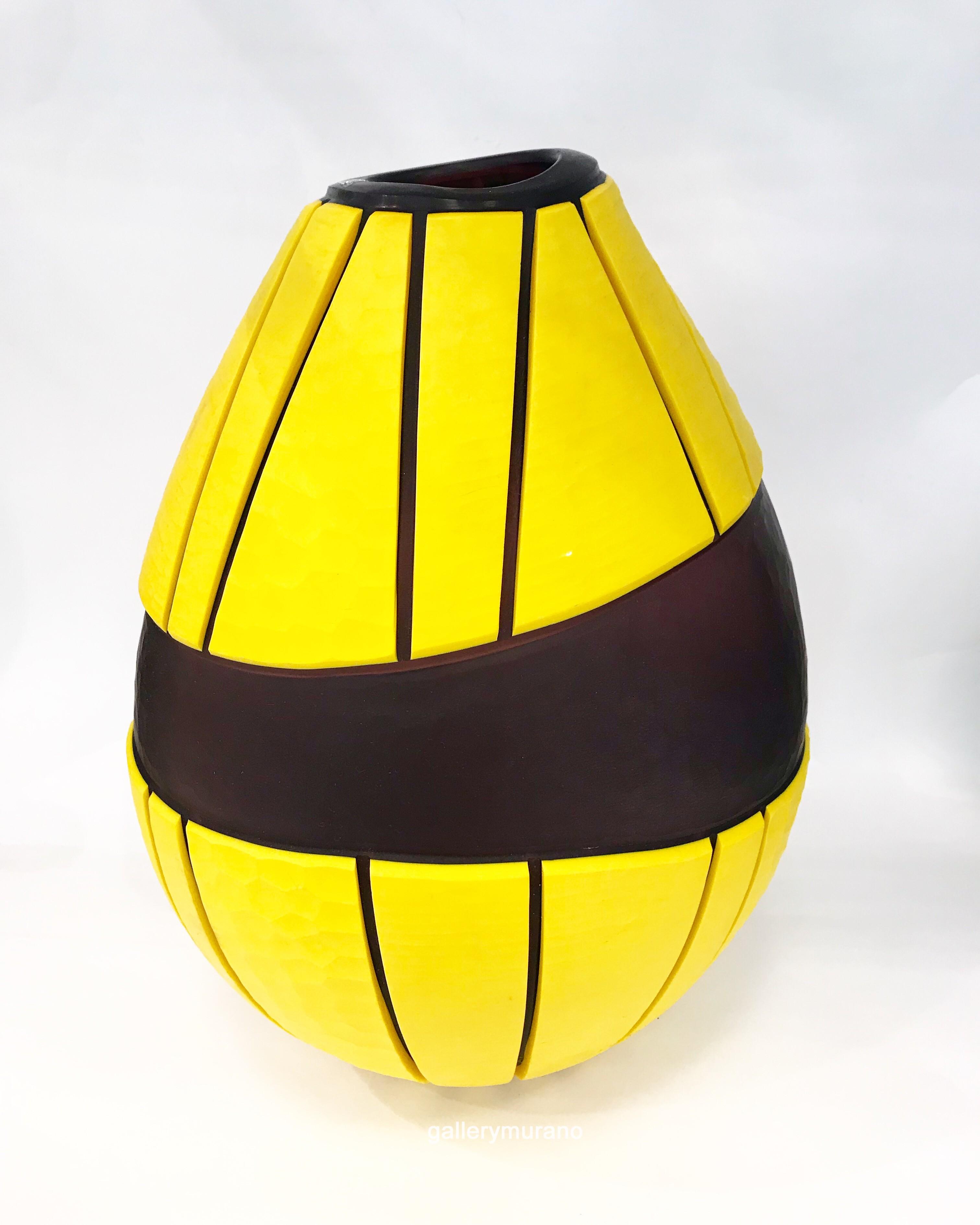 Ваза La Molleria желтая
