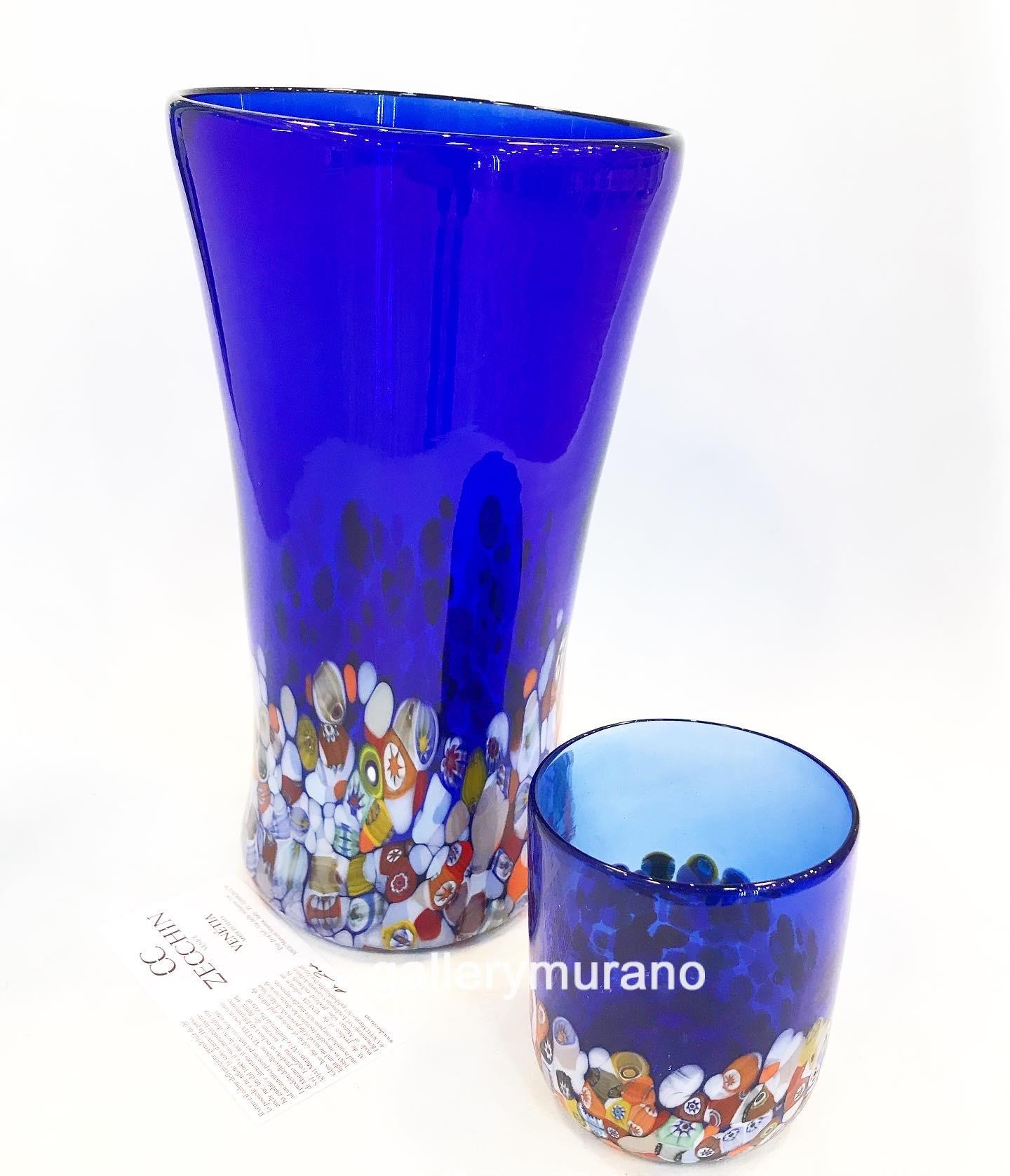 Стакан Multicolor blue
