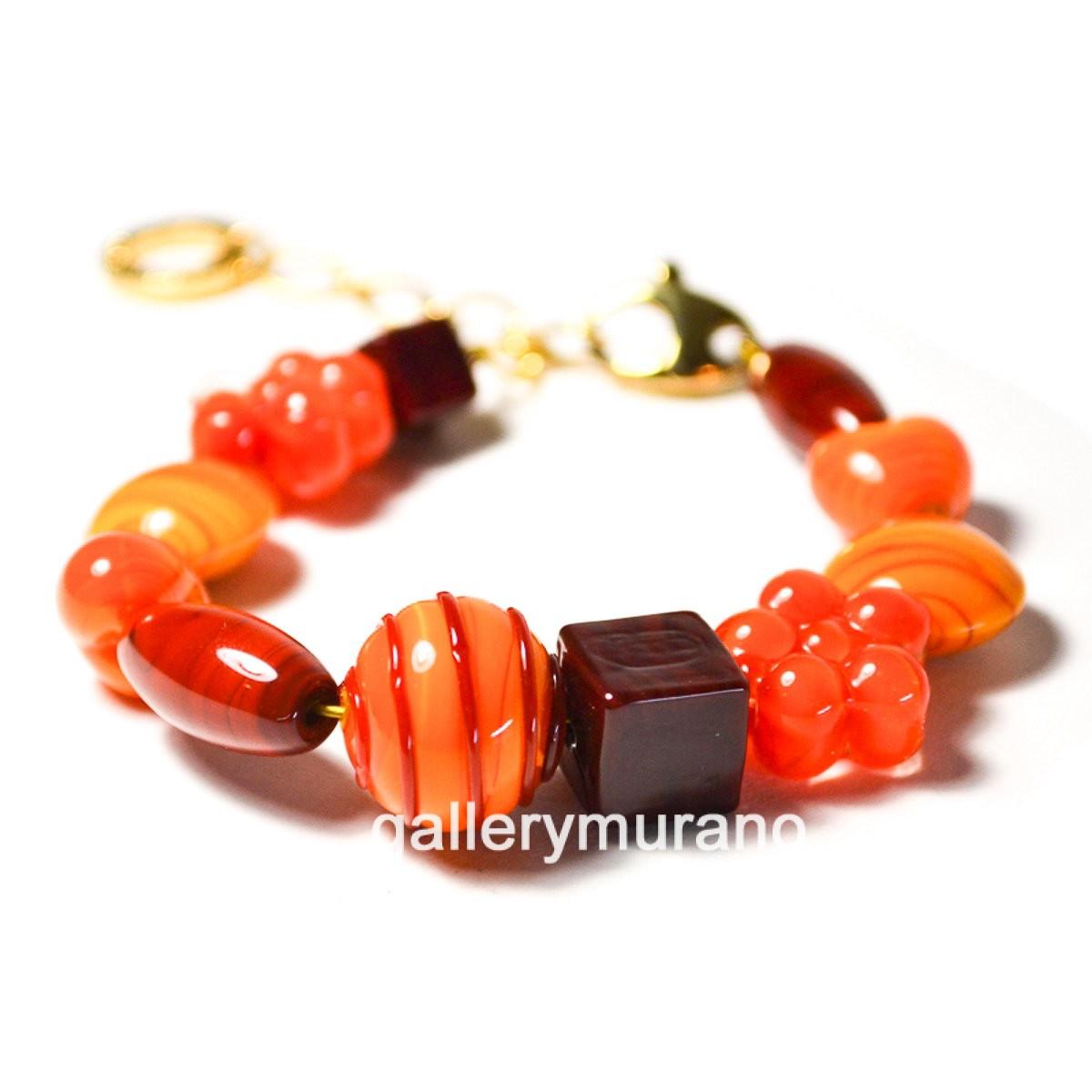 Браслет Noemi оранжевый