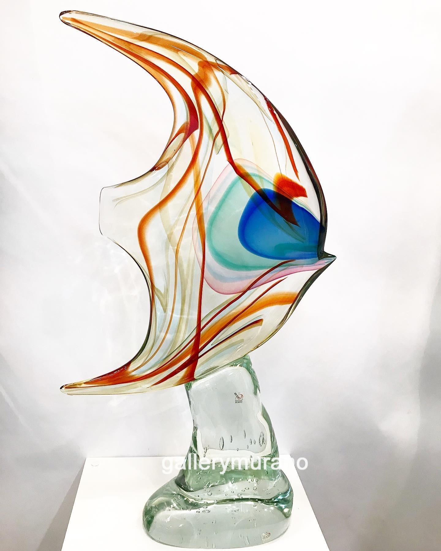"""Скульптура """"Рыба тропикана"""""""