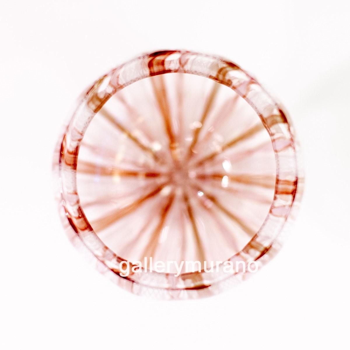 Бокал Glass Zanfirico бежевый