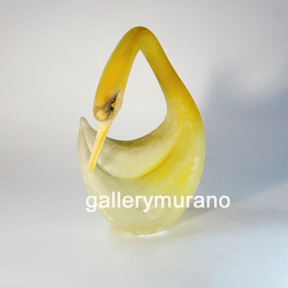 Фигурка утка желтая