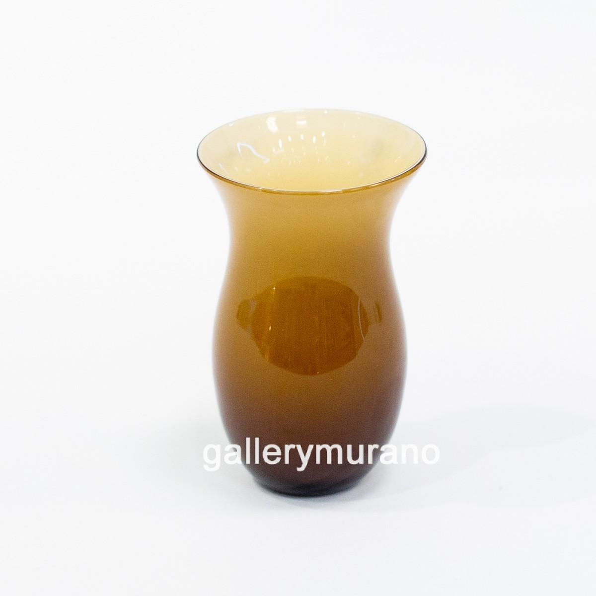 Ваза настольная Mini бежево-коричневая