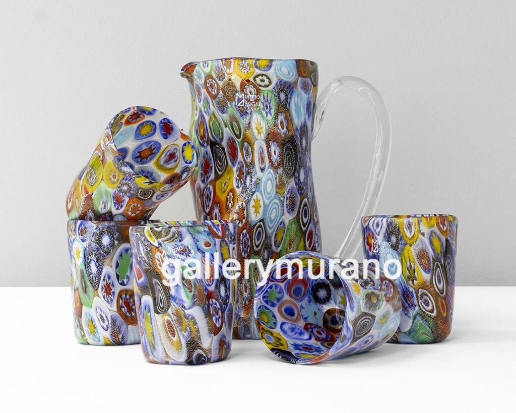 Набор multicolor 6 стаканов