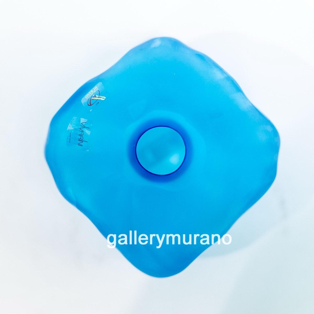 Ваза голубая Masse
