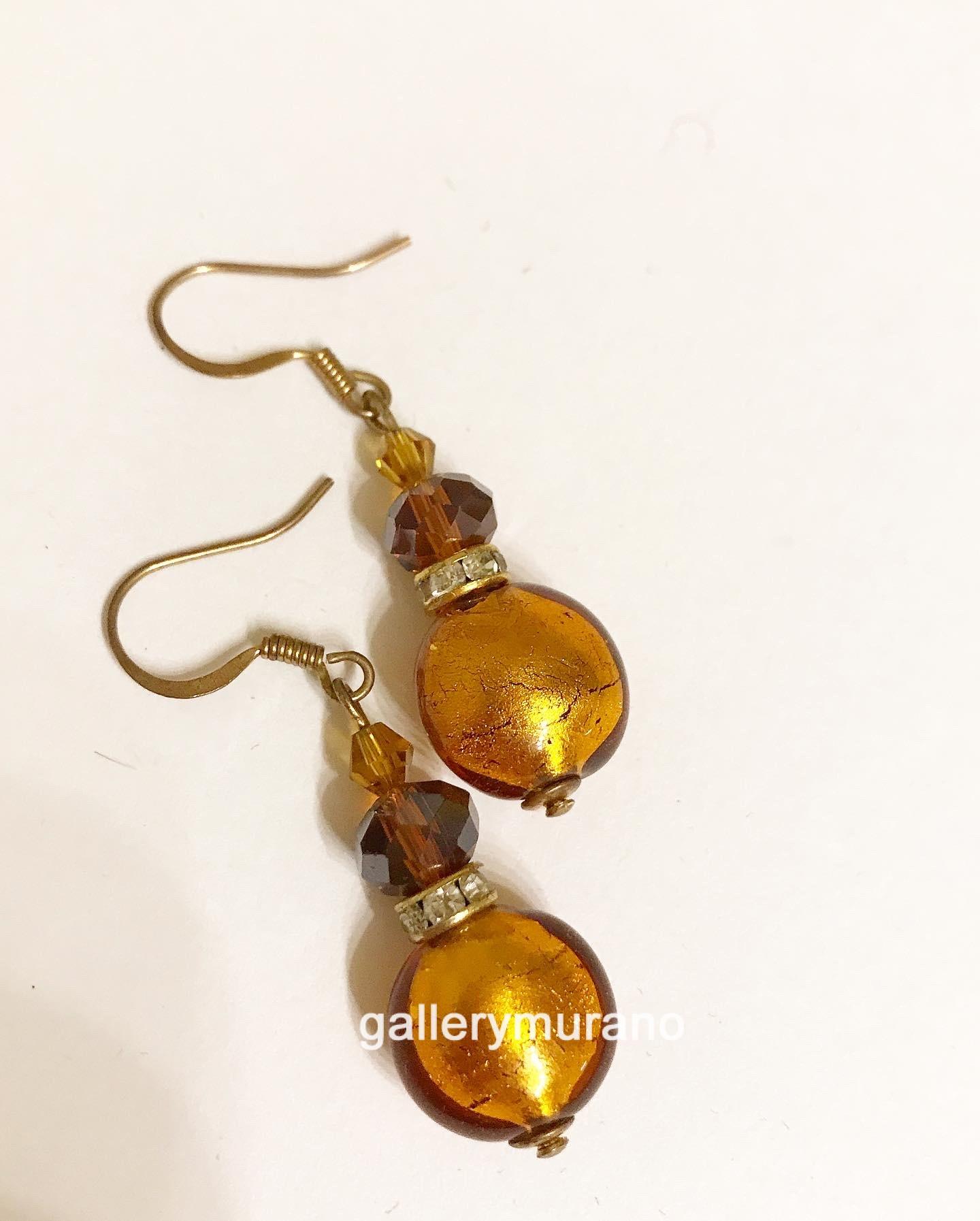 """Серьги """"Lume amber"""""""