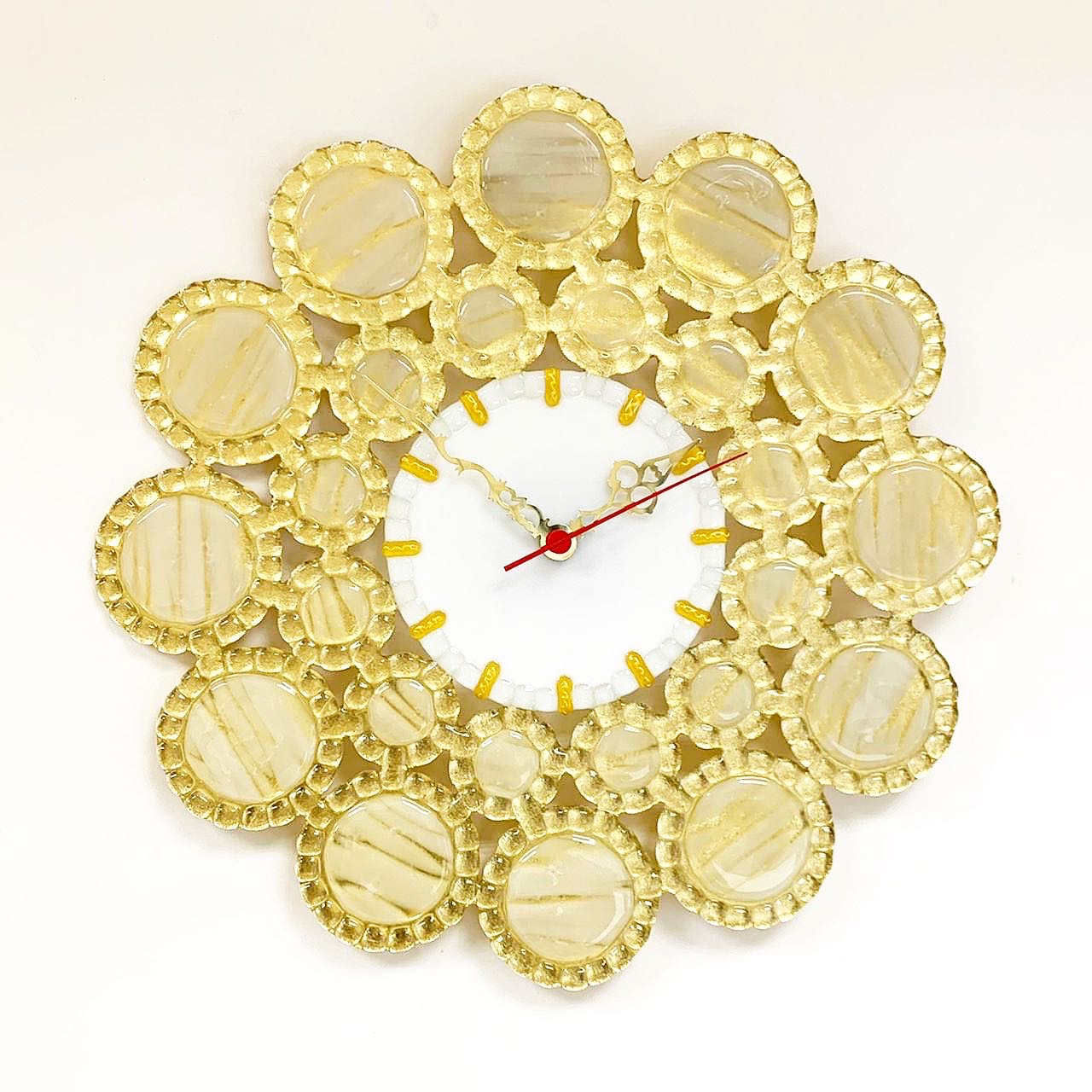 """Часы настенные """" Золотое кружево"""""""