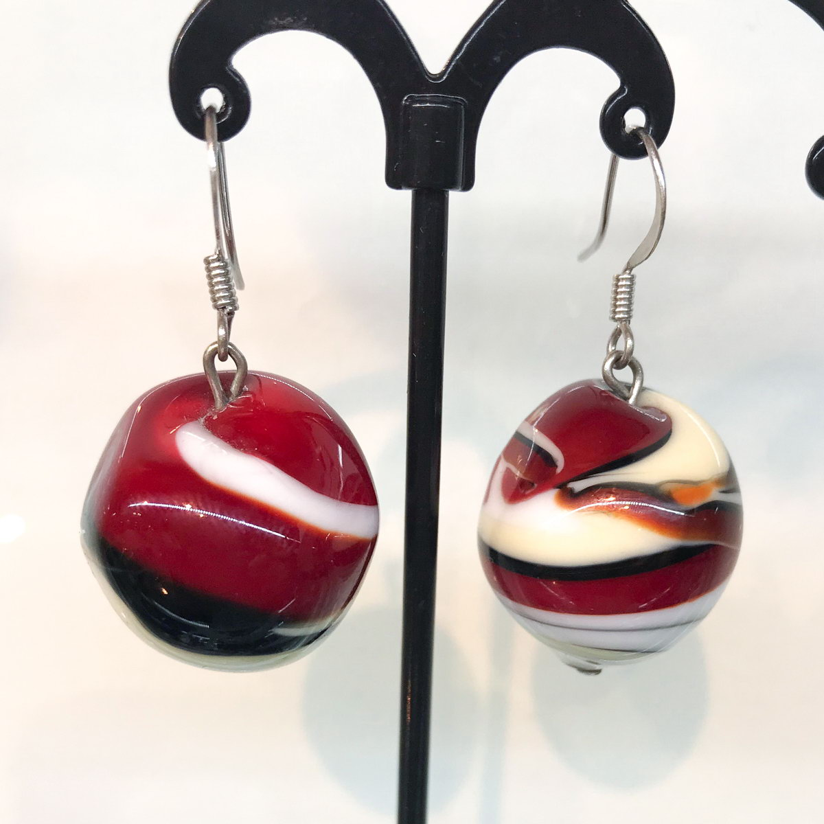 Серьги Glass Earrings